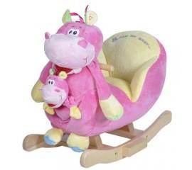 Balansoar muzical cu marioneta Hipopotamul Doris