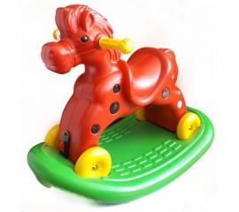 Calut balansoar cu roti Speedy Red