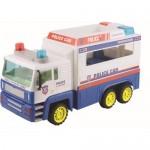 Camion de politie pentru copii Serve & Protect