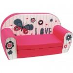 Canapea extensibila din burete Butterfly Love