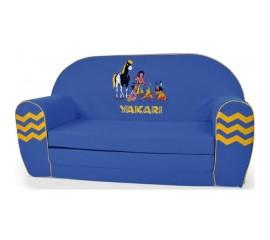 Canapea extensibila din burete Yakari