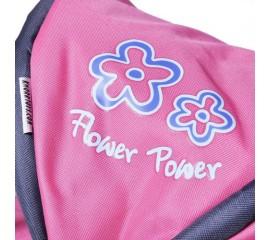 Carucior 2 in 1 pentru papusi Ruby Flower Power Pink