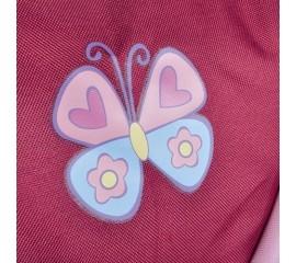 Carucior pentru papusi cu maner reversibil Mioux Sweet Butterfly