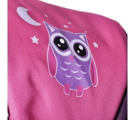 Carucior pentru papusi Kyra Pink Owl