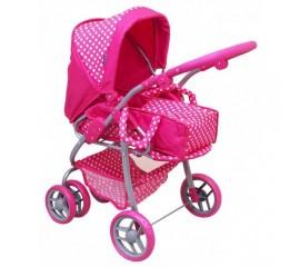 Carucior pentru papusi Pink Natalia