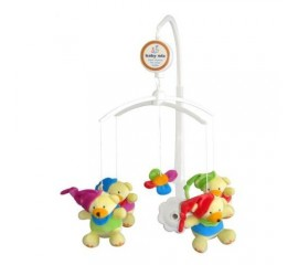 Carusel muzical Clown Bears