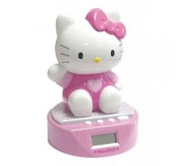 Ceas cu alarma si pusculita Hello Kitty