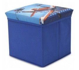 Taburet si cutie depozitare jucarii Disney Planes