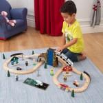 Set trenulet cu accesorii - Euro Express Train Set