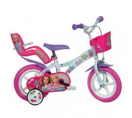Bicicleta copii Barbie 12 inch - Dino Bikes