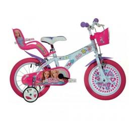 Bicicleta copii Barbie 14 inch - Dino Bikes