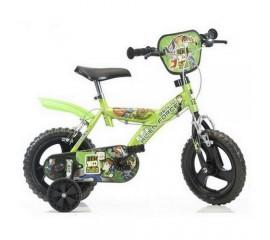 Bicicleta copii Ben 10 diametru 14 - Dino Bikes