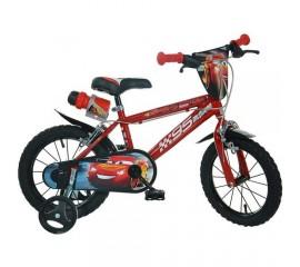Bicicleta copii Cars 3 14 inch - Dino Bikes