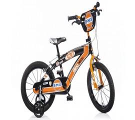 Bicicleta copii BMX 14 inch portocaliu - Dino Bikes