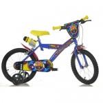 Bicicleta copii FC Barcelona 16 inch - Dino Bikes