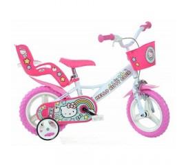 Bicicleta copii Hello Kitty 12 inch - Dino Bikes