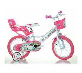 Bicicleta copii Hello Kitty 14 inch - Dino Bikes
