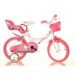 Bicicleta copii Hello Kitty 14 inch - Dino Bikes
