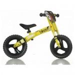 Bicicleta incepatori 12 inch galben - Dino Bikes