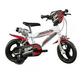 Bicicleta copii MTB 12 inch alb - Dino Bikes