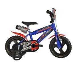 Bicicleta copii MTB 12 inch albastru - Dino Bikes