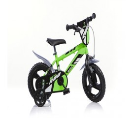 Bicicleta copii MTB 12 inch verde - Dino Bikes