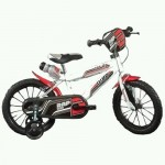 Bicicleta copii MTB 16 inch alb - Dino Bikes