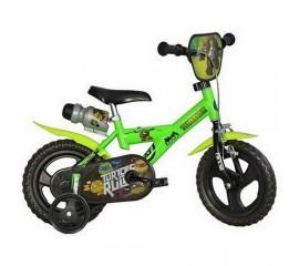 Bicicleta copii Ninja Turtles 12 inch - Dino Bikes