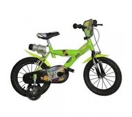 Bicicleta copii Ninja Turtles 14 inch - Dino Bikes