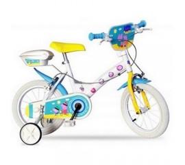 Bicicleta copii Peppa Pig 14 inch - Dino Bikes
