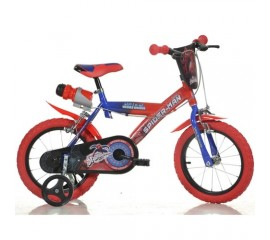 Bicicleta copii Spiderman 14 inch - Dino Bikes