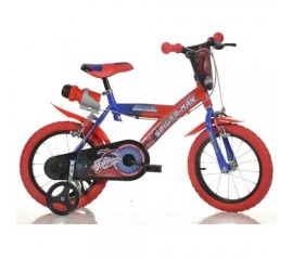Bicicleta copii Spiderman 16 inch - Dino Bikes