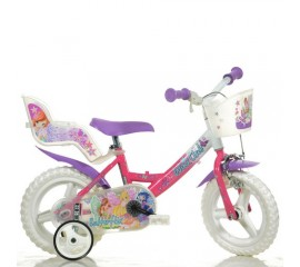 Bicicleta copii Winx 12 inch - Dino Bikes