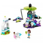 Calatorie spatiala in parcul de distractii LEGO Friends