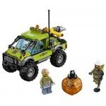 Camion de explorare a vulcanului LEGO City