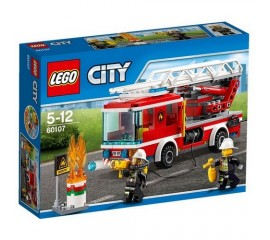 Camion de pompieri cu scara LEGO City Fire