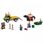 Camion pentru reparatii rutiere LEGO Juniors