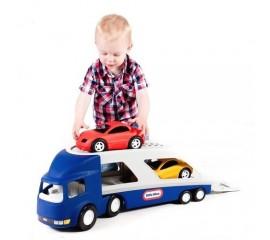Camion transport masini albastru - Little Tikes