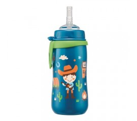 Cana Straw Cup Boy cu clip si pai de baut, nip 35067