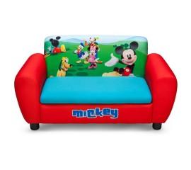 Canapea si cutie depozitare jucarii Disney Mickey Mouse