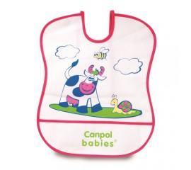 Canpol - Barbita plastic cu buzunar 2/919