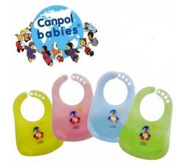 Canpol - Barbita plastic cu tavita (roz sau albastra) 2/404