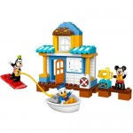 Casa de pe plaja a lui Mickey si prietenii LEGO DUPLO