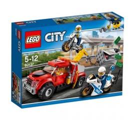 Cazul camionul de remorcare LEGO City