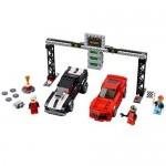 Cursa de dragstere Chevrolet Camaro LEGO Speed Champions