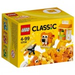 Cutie portocalie de creativitate LEGO Classic