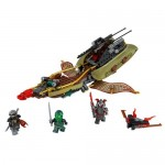 Destiny's Shadow - barca multifunctionala LEGO Ninjago