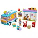 Distribuirea cadourilor in Heartlake LEGO Friends