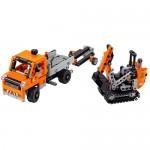 Echipaj pentru repararea drumurilor LEGO Technic