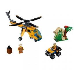 Elicopter de marfa in jungla LEGO City